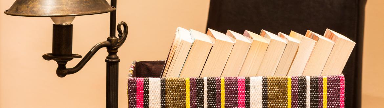 doos met boeken verwijzend naar boekenbox