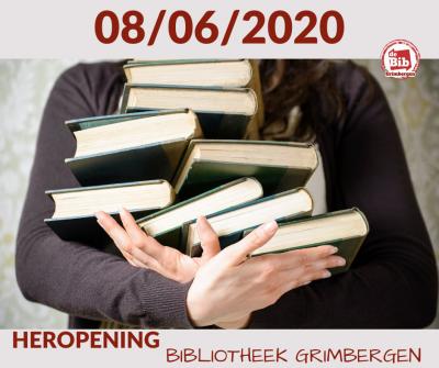Maatregelen corona Bibliotheek Strombeek-Bever!