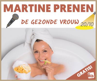 Lezing: Martine Prenen