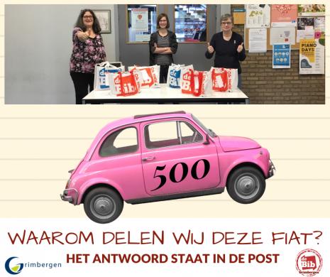 Bericht Facebook 500 pakketten Takeout Bib Strombeek-Bever
