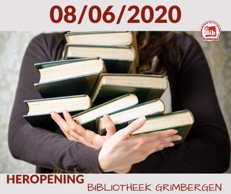 Aankondiging heropening juni 2020