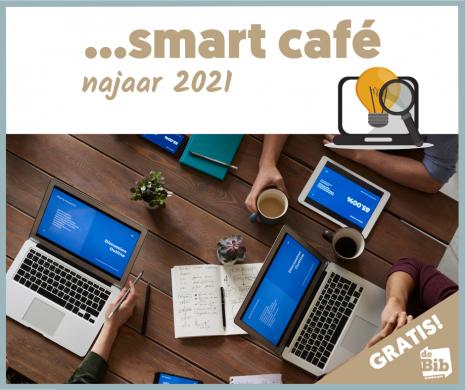 Promo smart café najaar 2021 bibliotheek Grimbergen