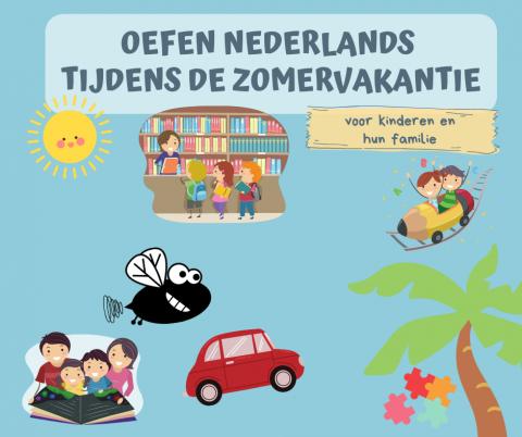 promotieafbeelding flyer Nederlands leren